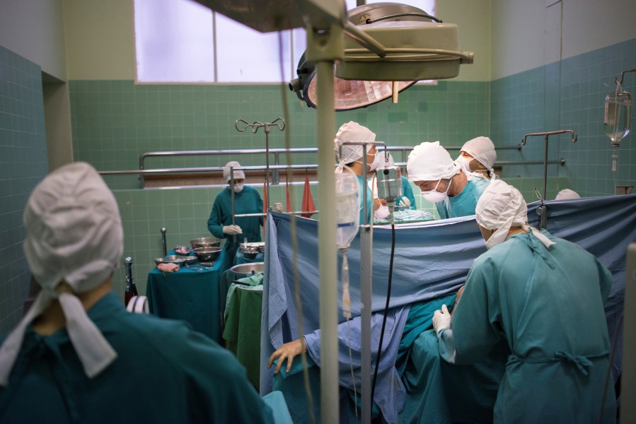 Une opération de chirurgie (photo d'illustration)