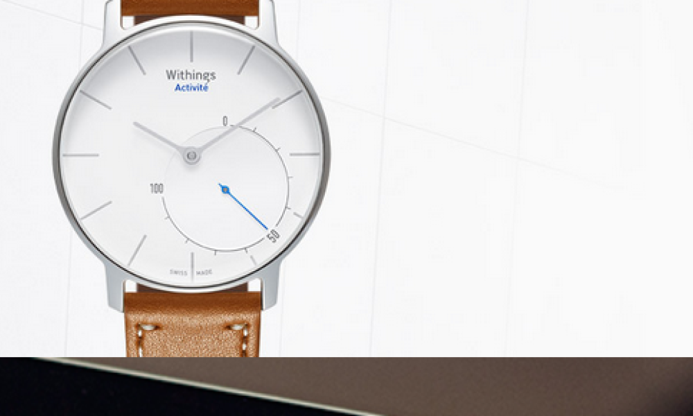 Withings a lancé sa montre connectée.