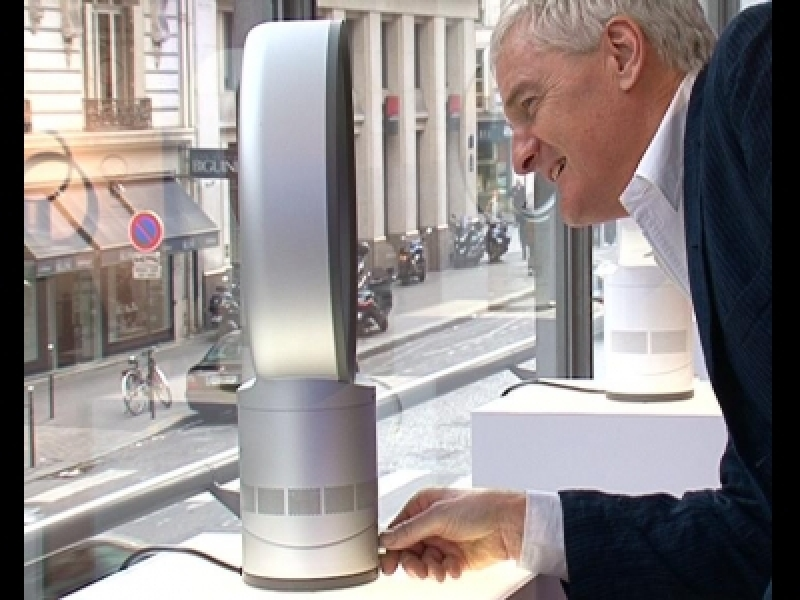 James Dyson lance le ventilateur sans pale