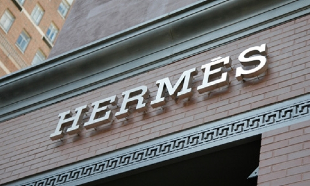 Une boutique Hermès à New York.