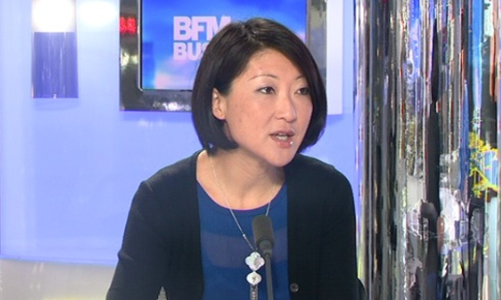 Fleur Pellerin, dans l'émission Good morning business, lundi 6 mai.