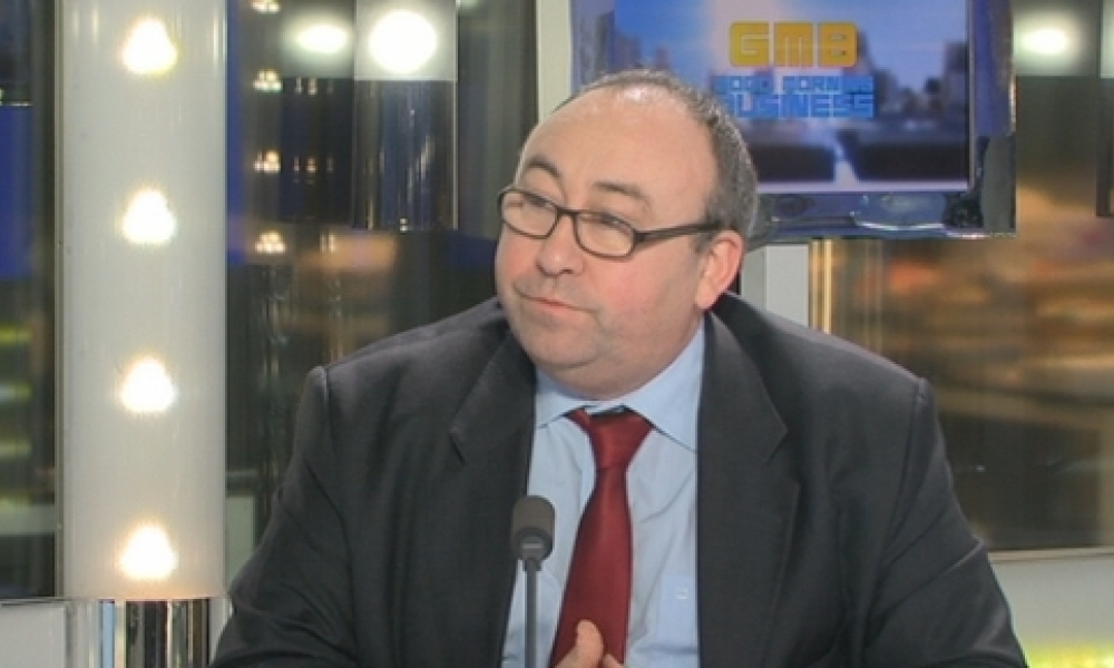 Emmanuel Lechypre, editorialiste pour BFM Business