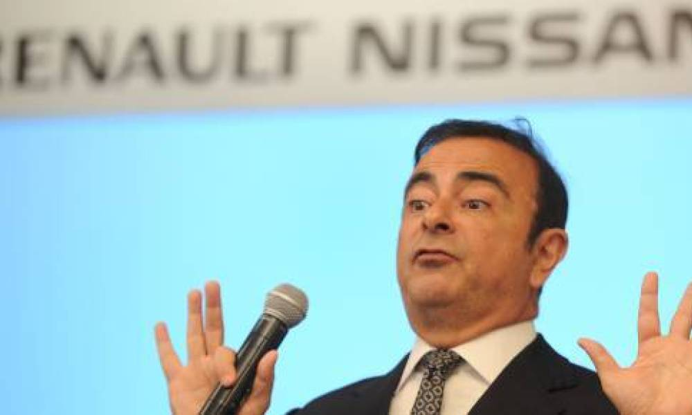 Le PDG de l'alliance Renault-Nissan, Carlos Ghosn.