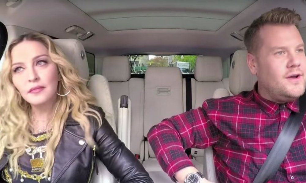2016-12-08 - Carpool Karaoke: Madonna chante ses hits
