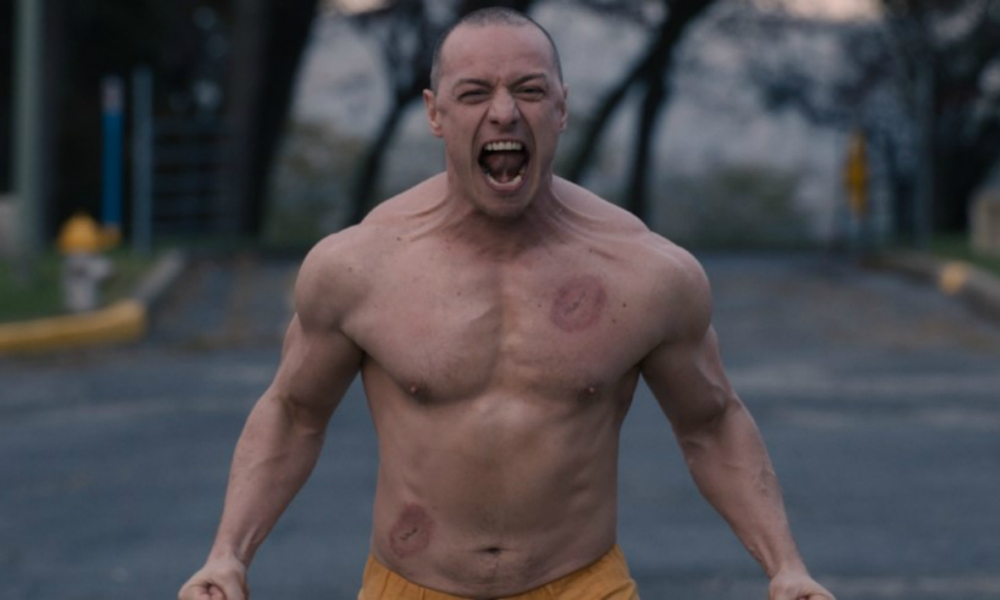 James McAvoy dans Glass