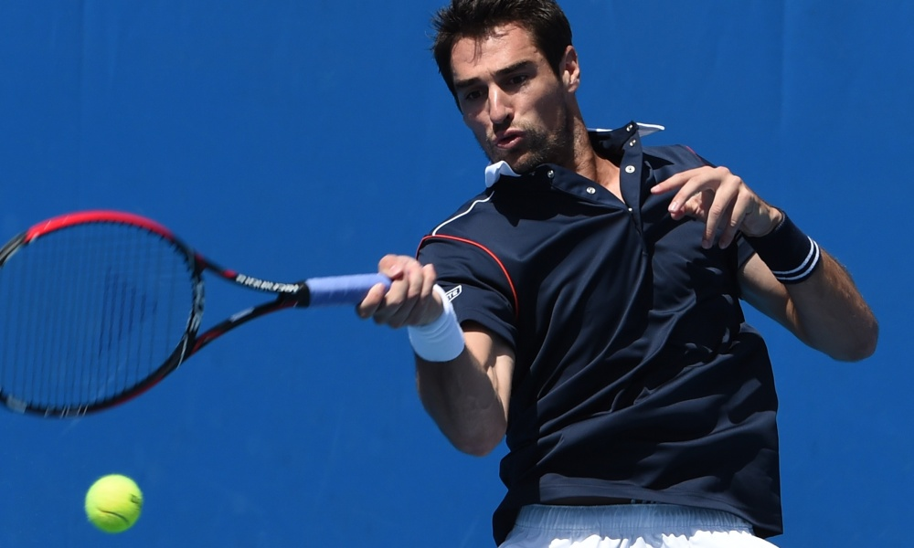 Estoril : Chardy sort d'entrée