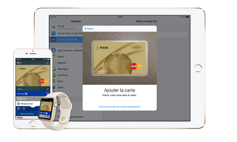 Il sera désormais possible de payer via l'iPhone.
