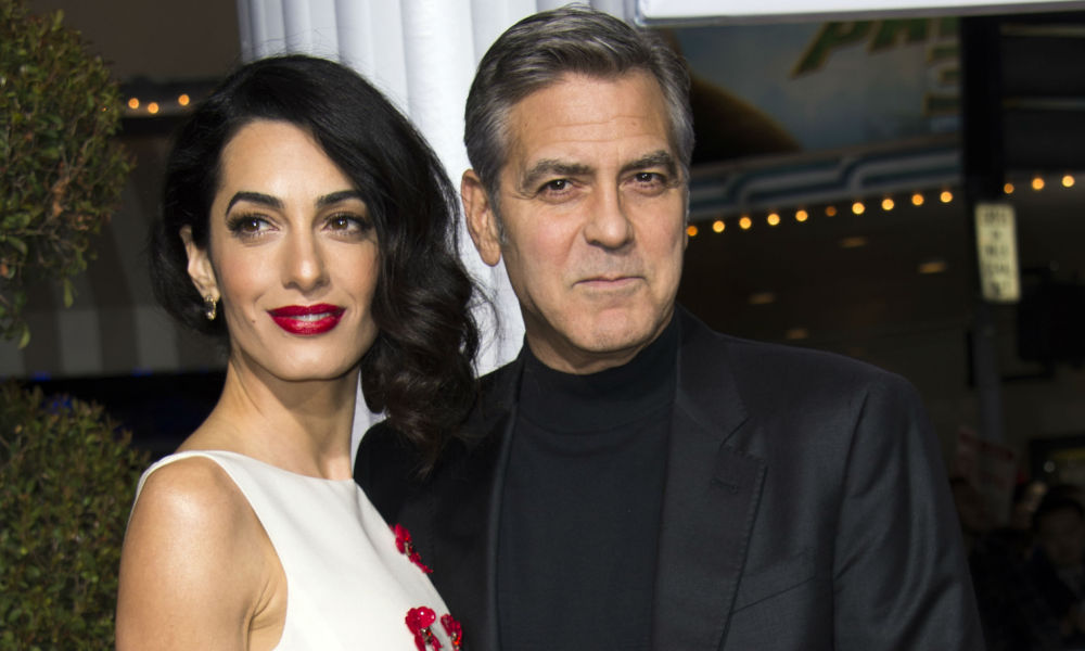 George Clooney et son épouse font un don de 500 000 dollars
