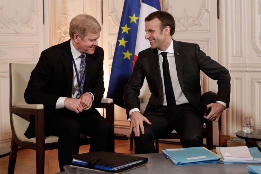 Macron Versailles Choose France Procter