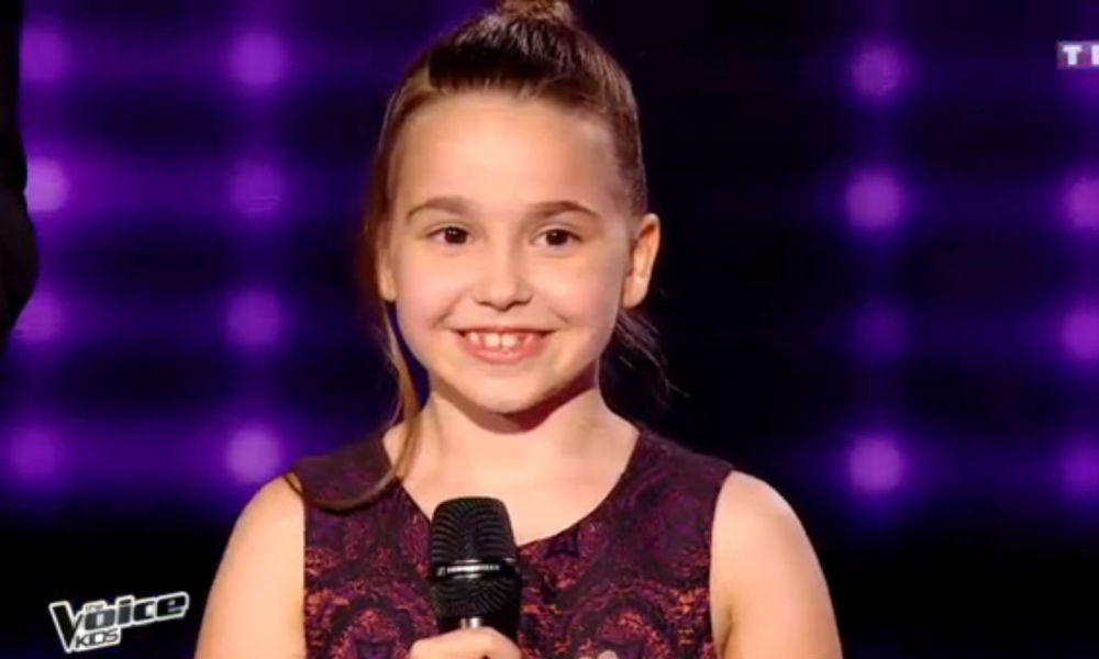 "Manuela, 7 ans, a remporté ""The Voice Kids 3"""
