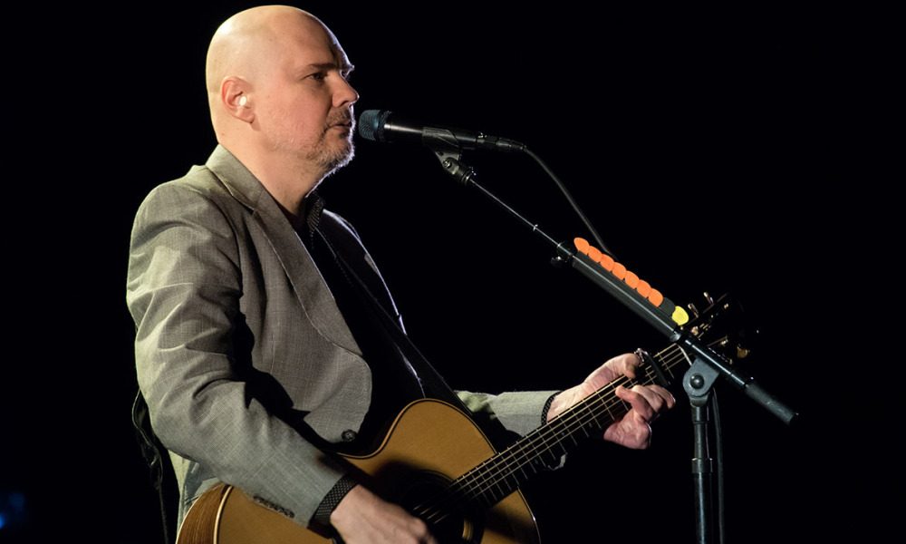 Le chanteur des Smashing Pumpkins, Billy Corgan, le 4 avril 2016 à New York.