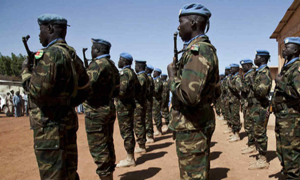 Au Mali, des soldats togolais de la Mission de l'ONU Minusma, le 21 mai 2014. (Photo d'illustration)
