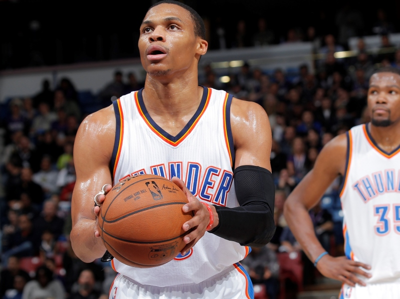 Thunder : Russell Westbrook
