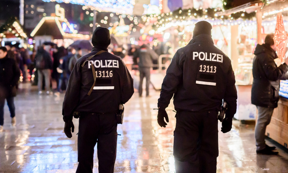 Des policiers à Berlin, le 22 décembre. (photo d'illustration)