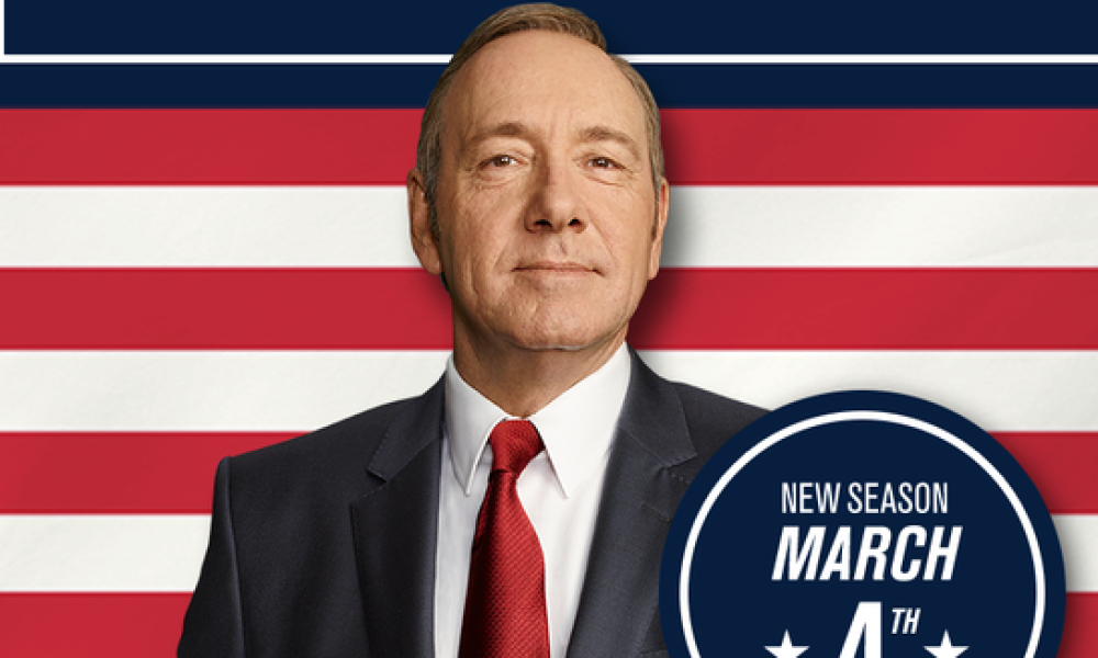 """""""House of Cards"""" avec Kevin Spacey"""