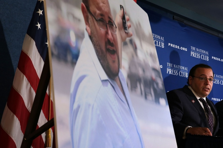 Le journaliste du Washington Post Jason Rezaian