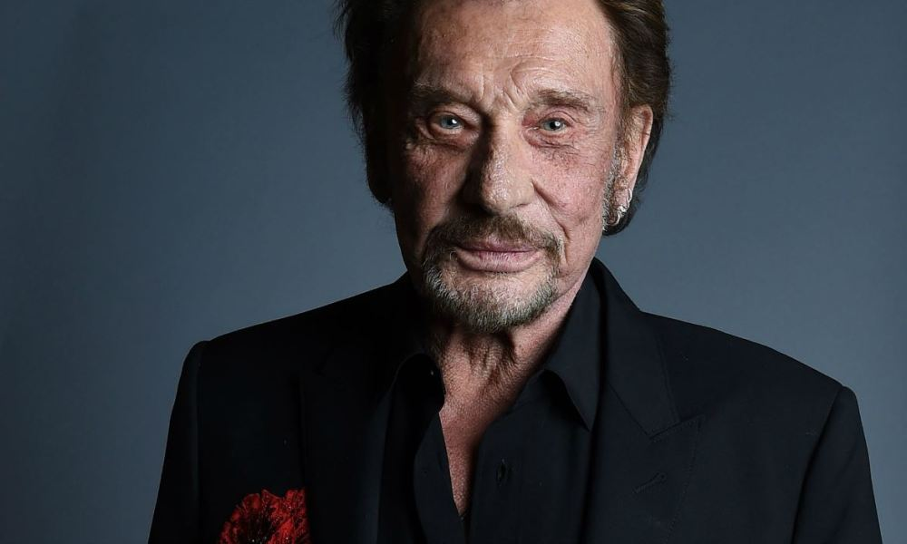 19 2016 shows Singer Johnny Hallyday attending the 20th annual COLCOA French Film Festival Opening Night at the Directors Guild of America in West Hollywood California. Johnny Hallyday