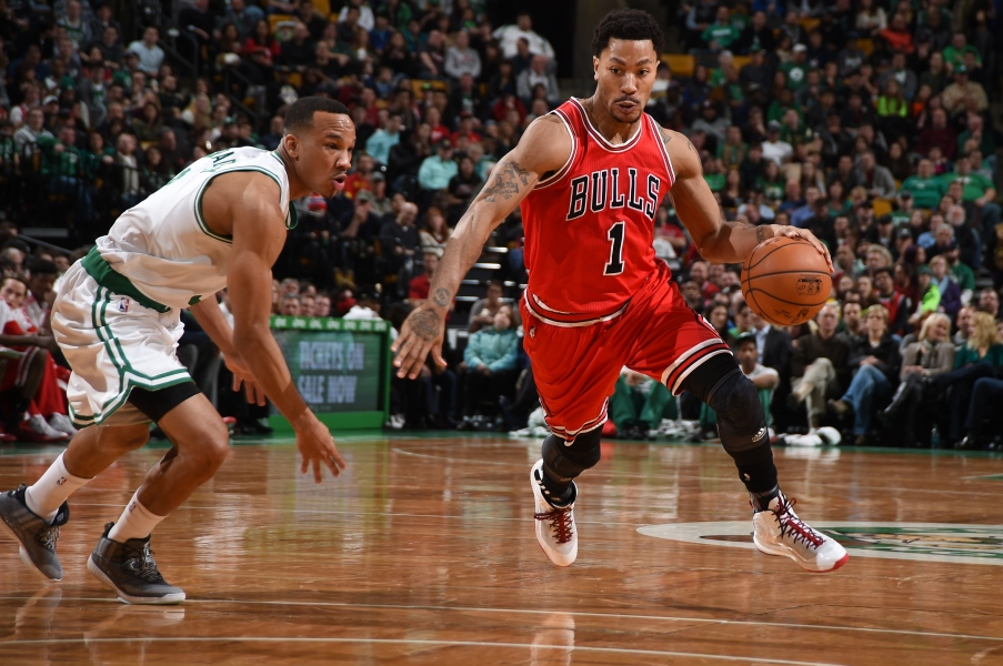 NBA : D-Rose enflamme Boston