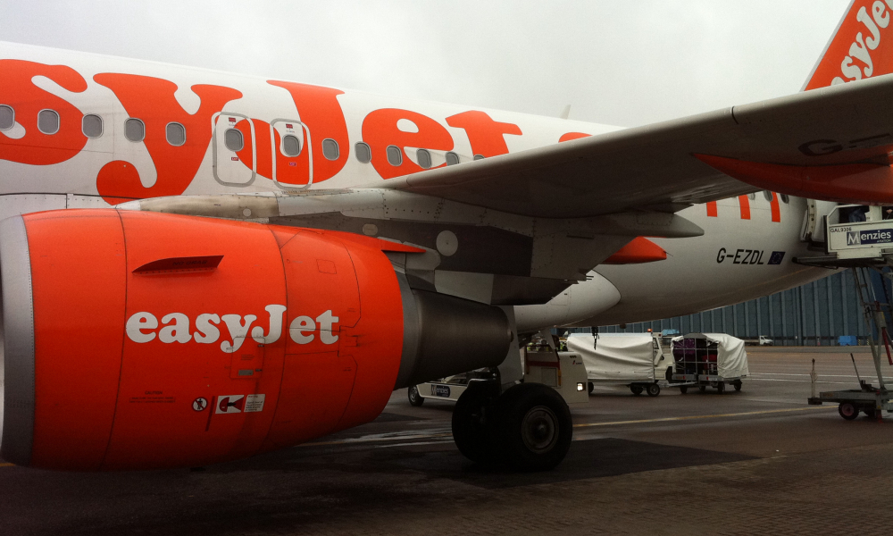 Un avion Easyjet. (illustration)