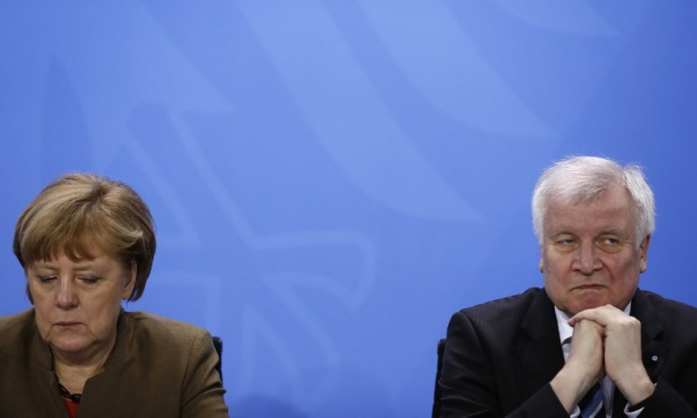 Angela Merkel et Horst Seehofer en 2016 (Photo d'illustration)