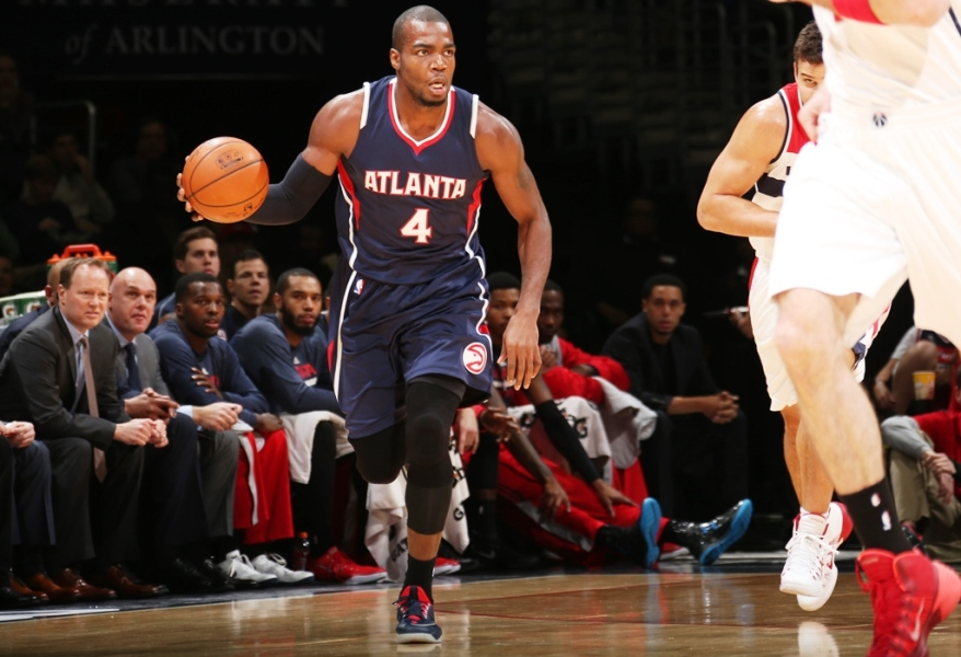 Paul Millsap n'a inscrit que six points dimanche face à Brooklyn