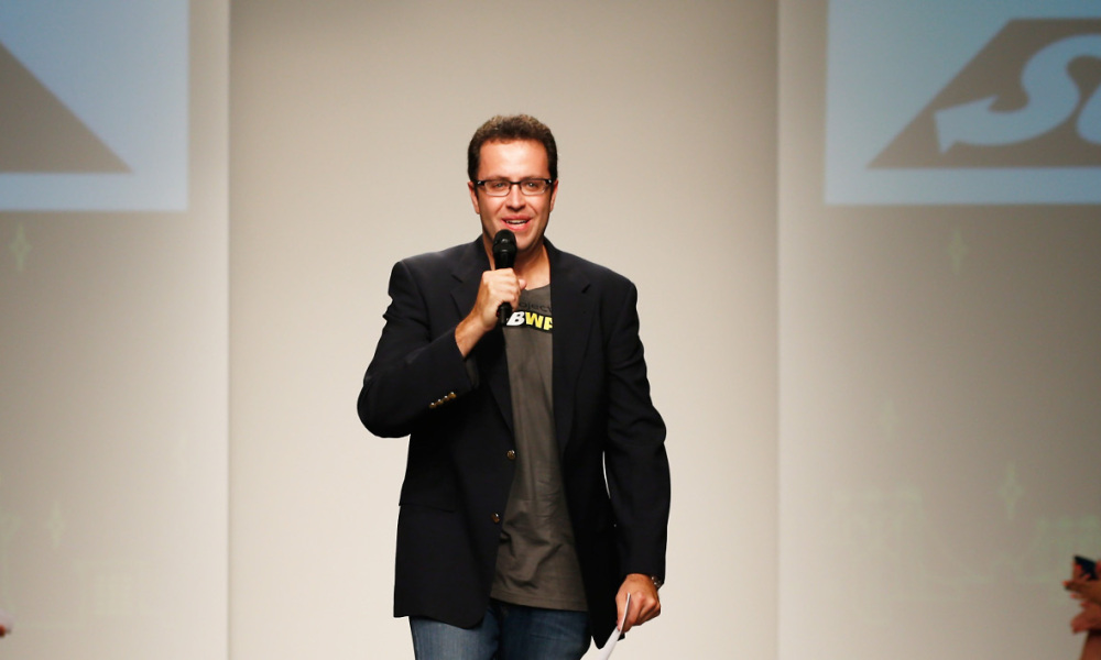 Jared Fogle, le 11 septembre 2013 à New York