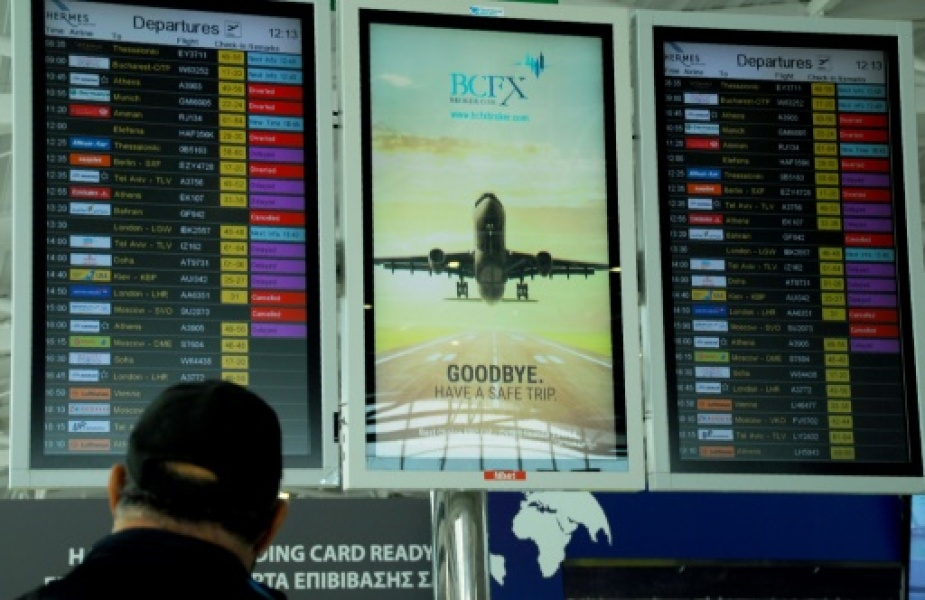 The Ukrainian tourist scaled an airport security fence in Cyprus after missing the final boarding call