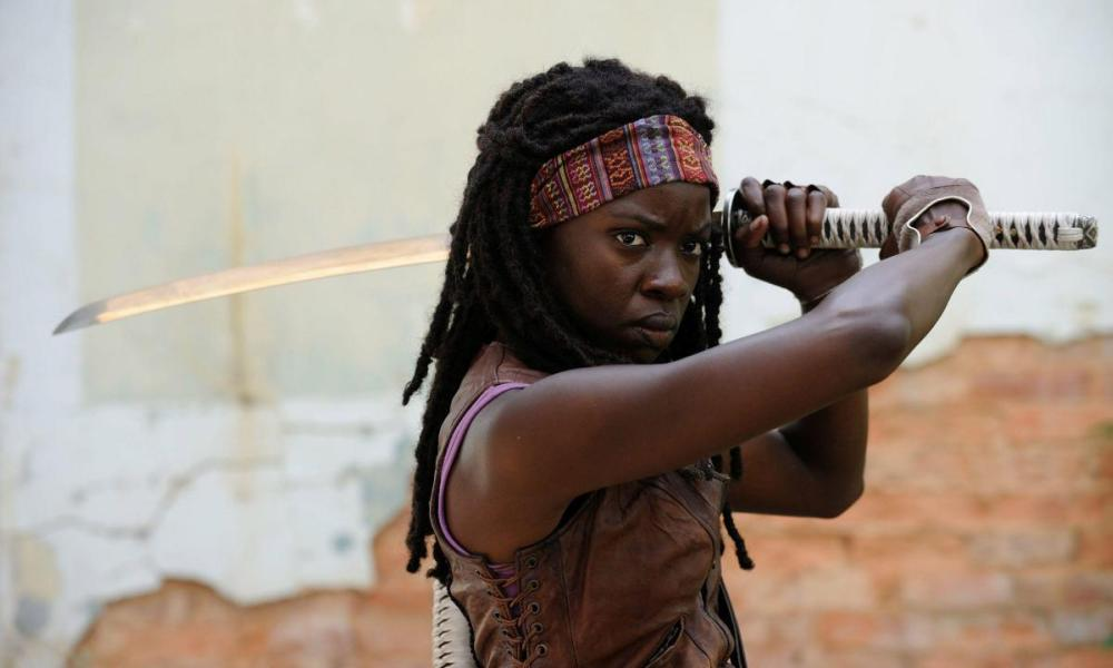 Danai Gurira alias Michonne dans The Walking Dead