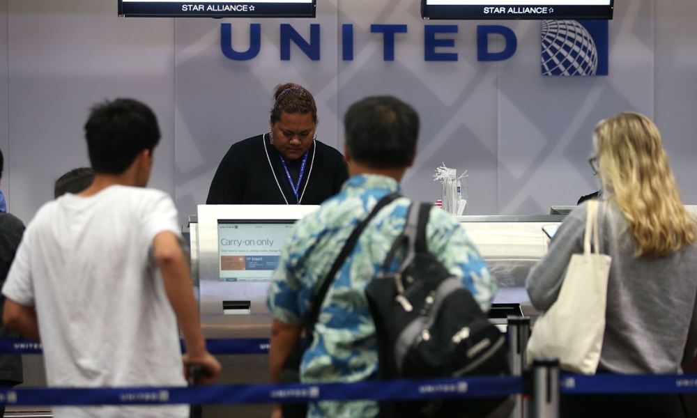 "United Airlines appelle cette offre ""Basic fares"""