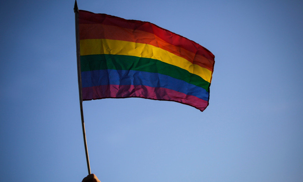 Le drapeau LGBT. (photo d'illustration)