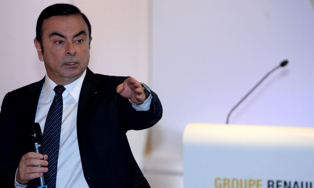 Carlos Ghosn a implicitement fait référence à Donald Trump