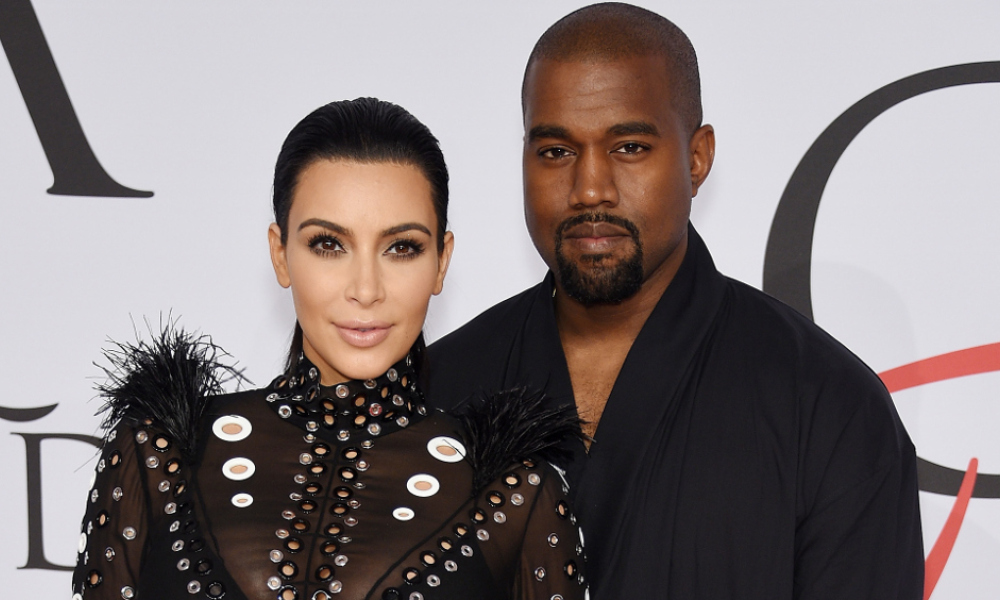 Kim Kardashian et Kanye West aux CFDA Fashion Awards à New York en juin dernier.