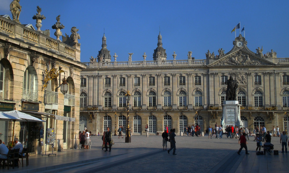 La Place Stanislas à Nancy.