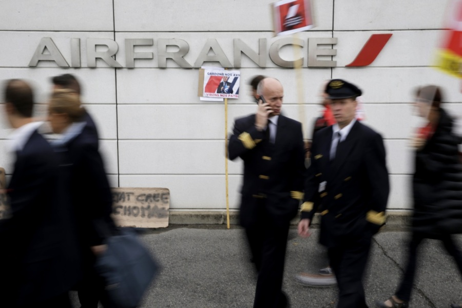 L'intersyndicale d'Air France réclame une augmentation salariale de 5,1% (image d'illustration).