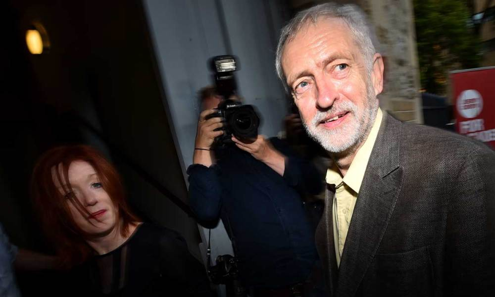 Jeremy Corbyn était le favori dans la course à la direction du Labour.