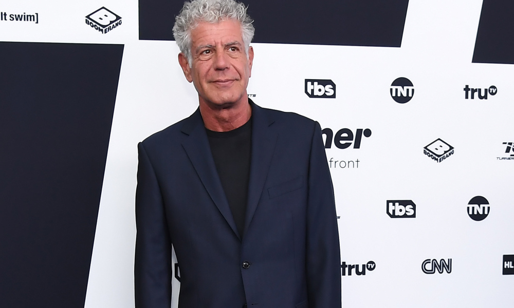 Anthony Bourdain en mai 2017 à New York