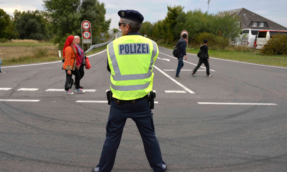 Police hongroise image d'illustration