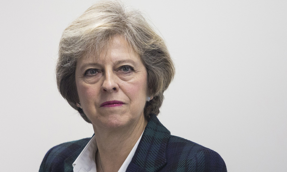 "Theresa May affirme que le Royaume-Uni aidera le Golfe face à ""l'agressivité"" de l'Iran. (Photo d'illustration)"