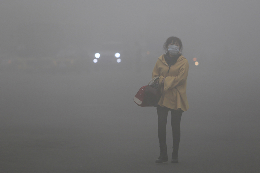 Pollution en Chine - photo d'illustration