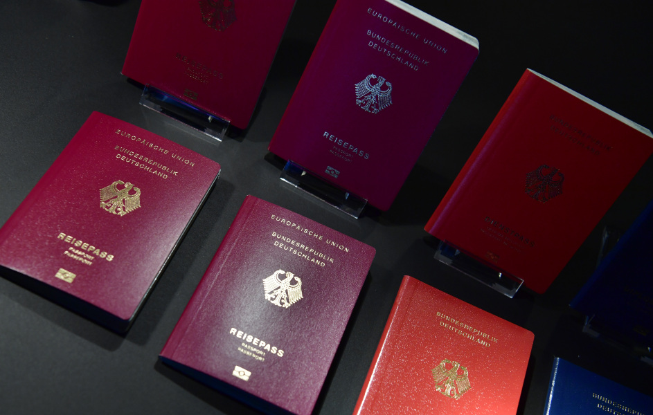 Des passeports allemands (photo d'illustration)