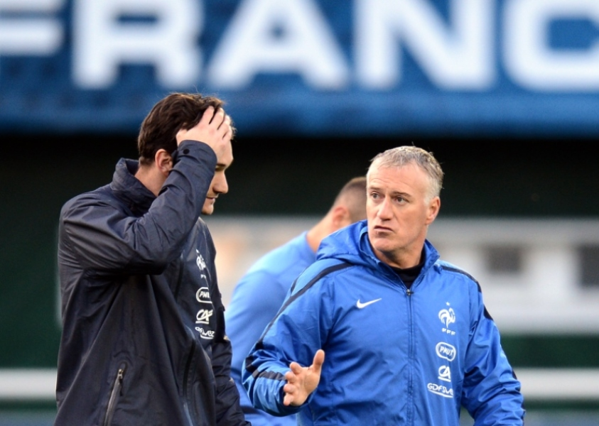 Didier Deschamps et Hugo Lloris