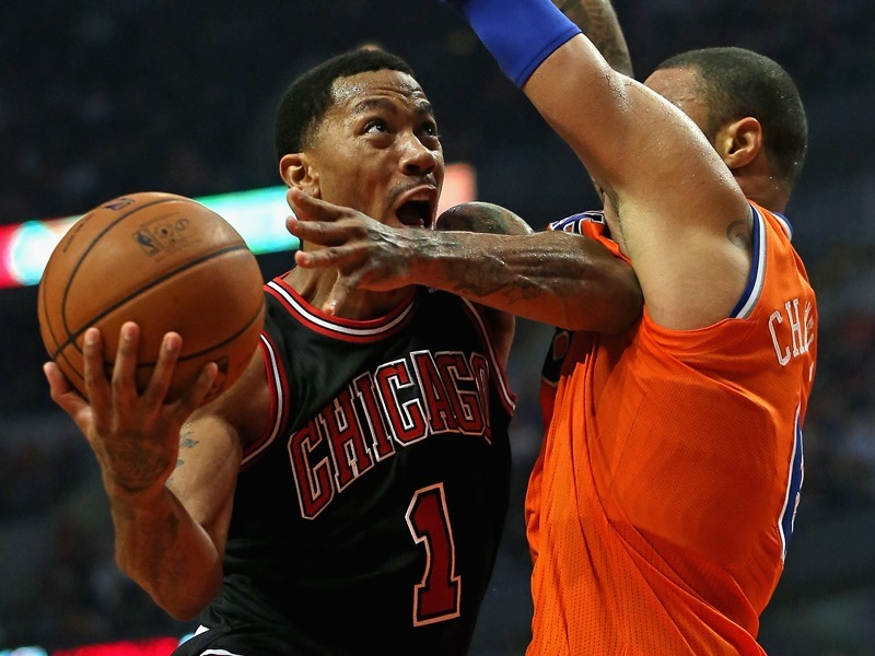 NBA : Rose, roi du Top 5