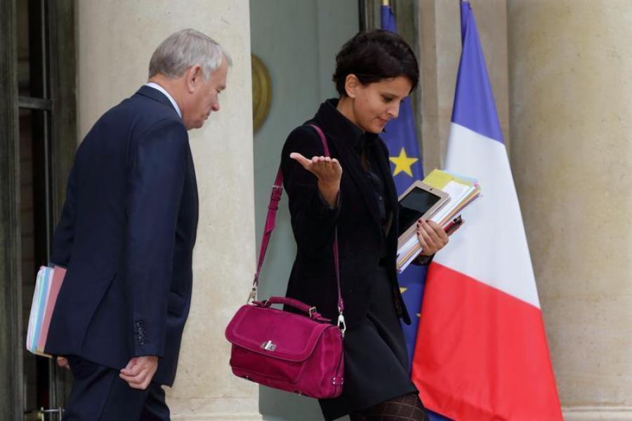 NAJAT VALLAUD-BELKACEM QUALIFIE DE LITTÉRATURE LES RUMEURS DE REMANIEMENT