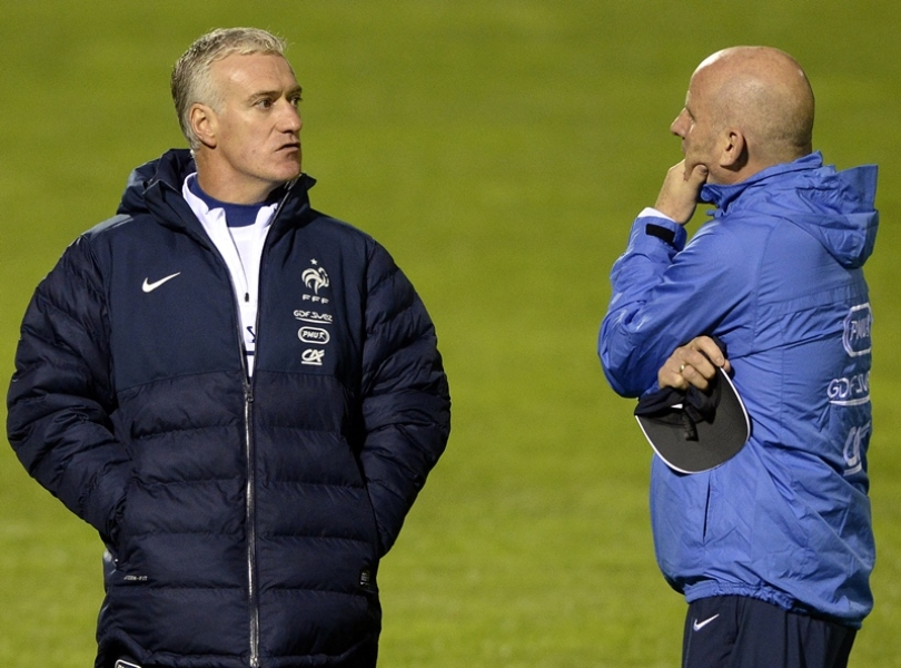 Didier Deschamps et Guy Stéphan