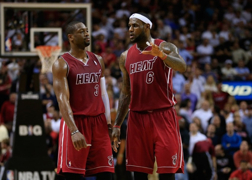 Dwyane Wade et LeBron James