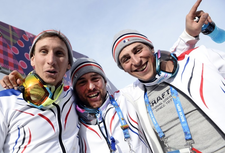 JO : Le Club France fête le ski cross