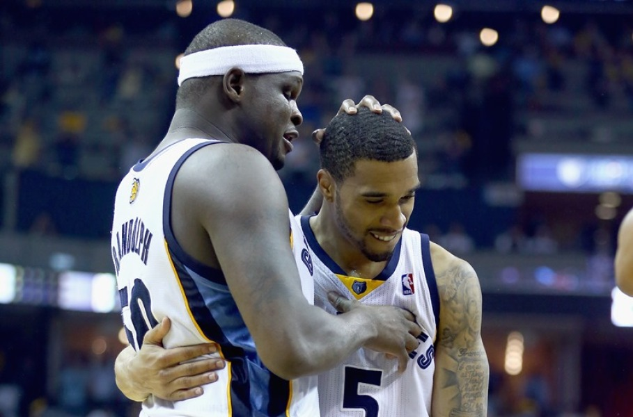 Zach Randolph et Courtney Lee