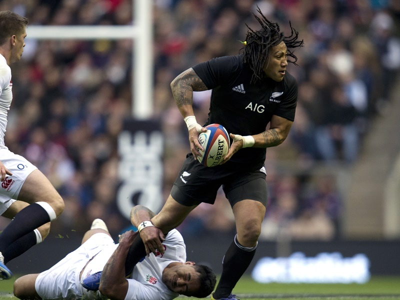 Les All Blacks battent l'Angleterre