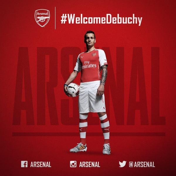 Arsenal officialise Debuchy