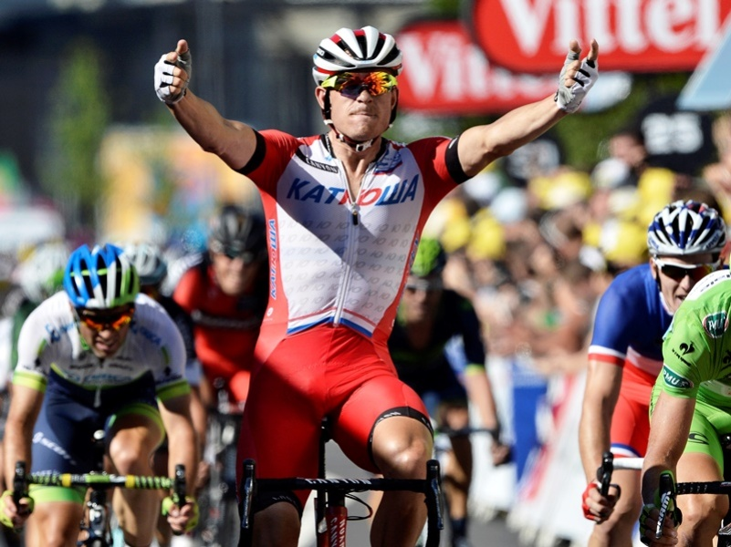 Kristoff : « Un sentiment formidable »